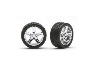 Chrome Irok's w/Tires PGHS1266 PEGASUS HOBBIES