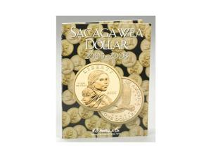 8HRS2943 Sacagawea Dollar Tri-Fold Folder 2005-2008 WHCY9338 WHITMAN COIN