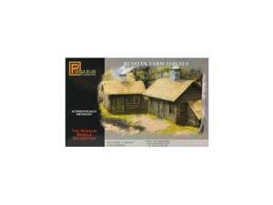 7702 1/72 Russian Farm Houses (2) PGHS7702 PEGASUS HOBBIES