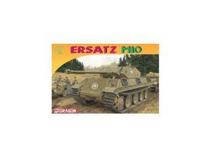 Dragon Models Ersatz M10 Armor Pro Series Tank Model Building Kit, 1:72 Scale DMLS7491 Dragon Models USA
