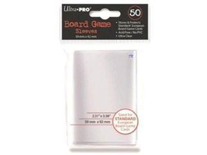 Standard European Board Game Sleeves ULP82602-1 Ultra Pro