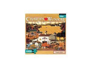 Charles Wysocki Pumpkin Hollow 1000-Piece Jigsaw Puzzle BUFY1408 Buffalo Games