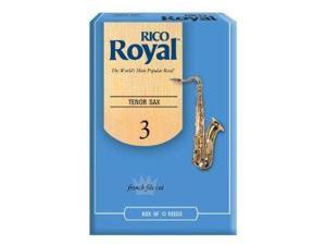 Rico Royal Tenor Sax 3 Box of 10 Reeds