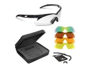 Radians Shift Shooting and Safety Glasses (Black Frame, Interchangeable Lenses) 116655