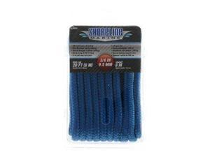 Shoreline Marine Double Braided Nylon Dock Line, Blue 075828