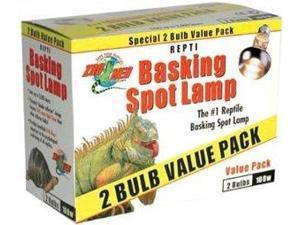 Zoo Med Repti Basking Spot Lamp 75 Watt 2pk for Reptiles