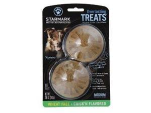 Everlasting Treat for Dogs, Veggie Chicken, Medium, 2-Pack ST00056 STARMARK