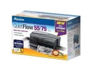 Aqueon 06079 QuietFlow 55/75 Power Filter, 400-GPH AQ06079 AQUEON