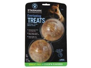 Everlasting Treat for Dogs, Veggie Chicken, Large, 2-Pack ST00055 STARMARK