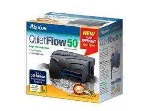 Aqueon 06117 QuietFlow 50 Power Filter, 250-GPH AQ06117 AQUEON