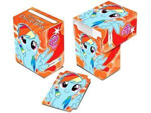 Ultra Pro My Little Pony Card Supplies Rainbow Dash Deck Box [Orange] ULP84343