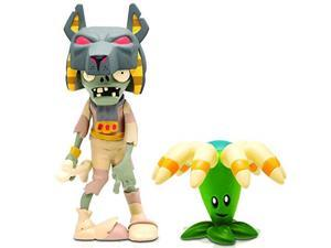 Plants vs. Zombies 2 Tomb Raiser Zombie Figure with Weapon