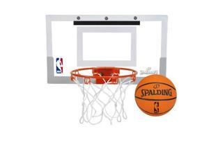 Spalding NBA Slam Jam Over-The-Door Mini Basketball Hoop 099-CO
