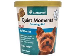 NaturVet Quiet Moments Plus Melatonin Soft Chew - 70ct NV79903695