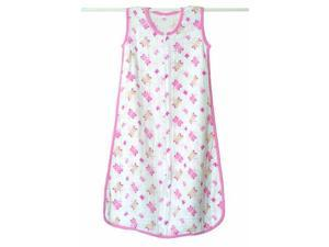 aden + anais Slumber Muslin Sleeping Bag Single Layer, Princess Posie - Butterfly, Small 8026 ADEN + ANAIS