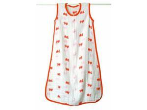 aden + anais Slumber Muslin Sleeping Bag Single Layer, Mod About Baby - Fish, Small 8038 ADEN + ANAIS