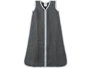 aden + anais Cozy Muslin Sleeping Bag, Dream In Grey, Small 1055 ADEN + ANAIS