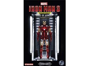 Dragon Models 1/9 Iron Man 3 - Hall of Armor - Mark VII Model Building Kit DMLS8336 Dragon Models USA