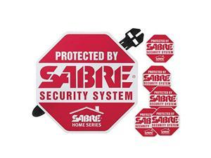 SABRE Home Security Decals HS-SYS* Sabre