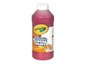 Crayola Washable Fingerpaint 32-Ounce Plastic Squeeze Bottle, Red 55-1332-038