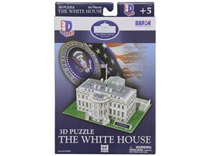 The White House 3D Puzzle, 64 Pcs DWTY4005 Daron