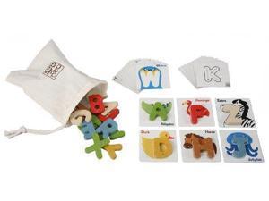 PlanToys Plan Preschool Alphabet A-Z Preschool  Version 5168 PLAN TOYS