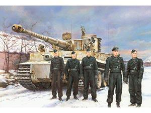 Dragon Models Tiger I Early Production (Michael Wittmann), Eastern Front 1944 Model Kit (1/35 Scale DMLS6730 Dragon Mode