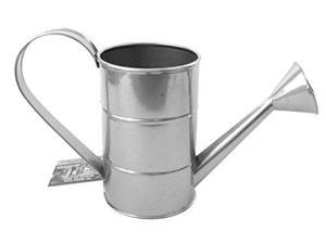 1 Qt Tin Watering Can for Gardening or Floral Arrangements 12869-CO Plaid