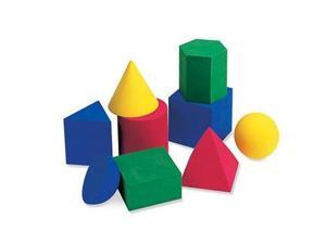 Learning Resources Soft Foam Large Geometric Shapes, Set Of LER6121-DISC LEARNING RESOURCES