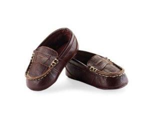 Mud Pie Baby-Boys Newborn Leather Pre Walker Loafers 352507