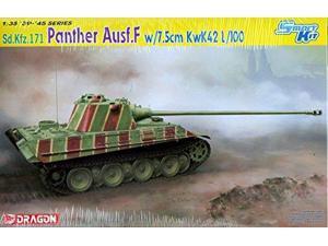 Dragon Models 1/35 Panther Ausf.F with 7.5cm KwK42 L/100 Vehicle Model Building Kit DMLS6799 Dragon Models USA