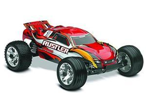 Traxxas 37054-1 Rustler: Stadium Truck, Ready-To-Race (1/10 Scale), Colors May Vary TRAD41**