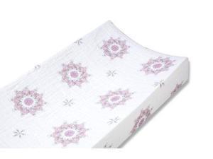 aden + anais 100% Cotton Muslin Changing Pad Cover, For The Birds Medallion 8707 ADEN + ANAIS