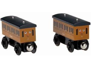 Fisher-Price Thomas the Train Wooden Railway Annie and Clarabel FRPU4422