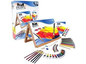Learn To Paint 59 Pc Art Set RBMY0101 ROYAL BRUSH