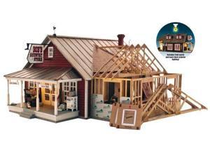 Country Store Expansion Built and Ready O Scale WOOU5845 DESIGN PRESERVATION MODELS