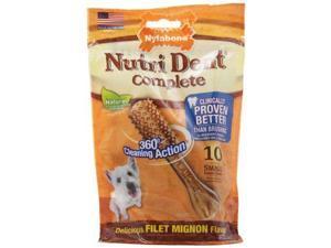 Nylabone Nutri Dent Dog Treat Dental Bones NTD701M10P