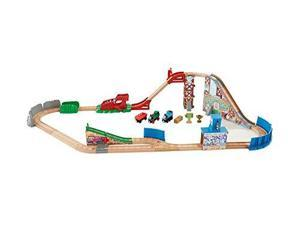 Fisher-Price Thomas the Train Wooden Railway Race Day Relay FRPU0097