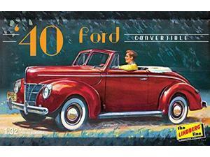 LINDBERG HL119/12 1/32 1940 Ford Convertible LNDS0119 Lindberg