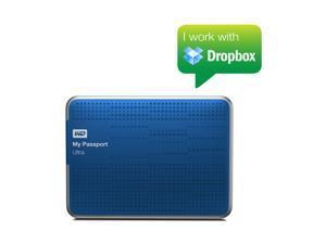 WD My Passport Ultra 1TB USB 3.0 Portable Hard Drive WDBZFP0010BBL-PESN BLUE