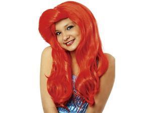 Child Red Mermaid Wig Franco American Novelties 21912 21037