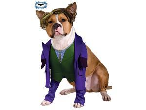 The Joker Pet Costume Rubies 885953