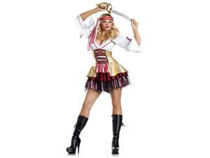 Adult Sultry Sea Siren Pirate Costume Be Wicked BW1285