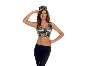 Adult Sexy Amry Girl Costume Kit Dreamgirl 8352