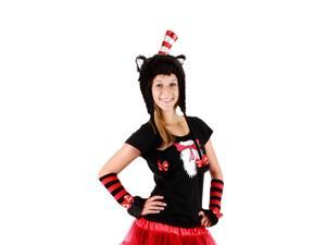 Dr. Seuss Cat in the Hat Hooide Hat by Elope Costumes 291710