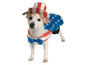 Pet Uncle Sam Costume Rubies 885950