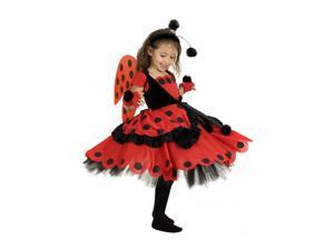 Child Lovely Lady with Boppers & Glovelettes Costume Princess Paradise 4912