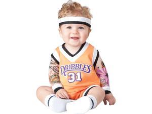 Infant Double Dribble Basketball Player Costume by Incharacter Costumes LLC 16042