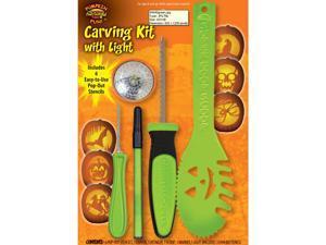 11 Piece Collossal Pumpkin Kit With Light by FunWorld 94690