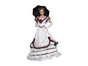 Adult Premium White Southern Belle Costume Rubies 56207